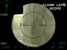 Clear lens scope