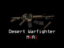 Desert Warfighter M4A1