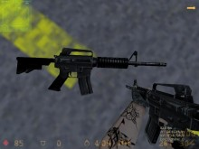 Valve's M4A1 on MDO's Urban textures for AK-47