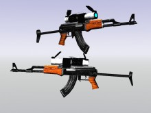 Rk ak47 with scope