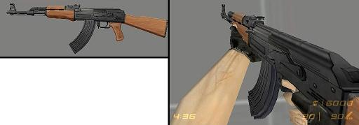 Realistic High Detail AK-47