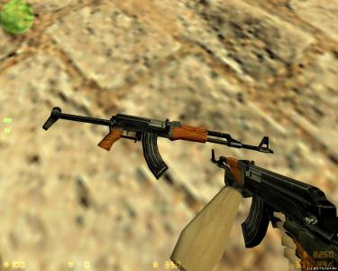 Hack Default Model AKS-47 скриншот №1