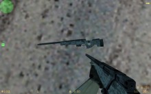 AWM Arctic Digital Camo Without Scope