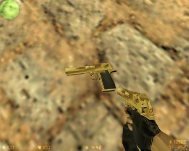 Gold & Chrome IMI Desert Eagle .50 AE скриншот №1