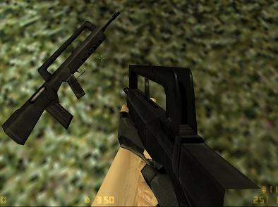 default recoloured,reorigined famas