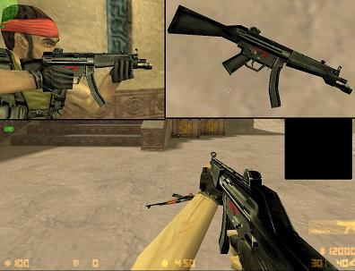 hack default model mp5a3