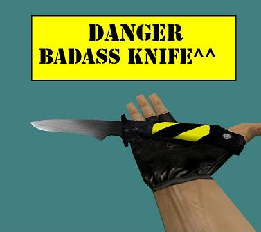Danger Badass Knife
