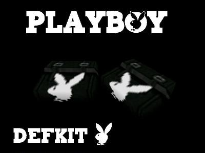 PlayBoy DefKit  Black