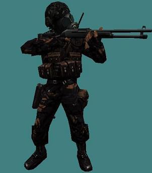 SAS Urban Dark Camo
