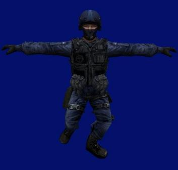 Gign textures on spetsnaz model