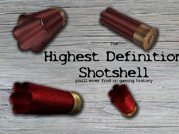 uber high-definition shotshell
