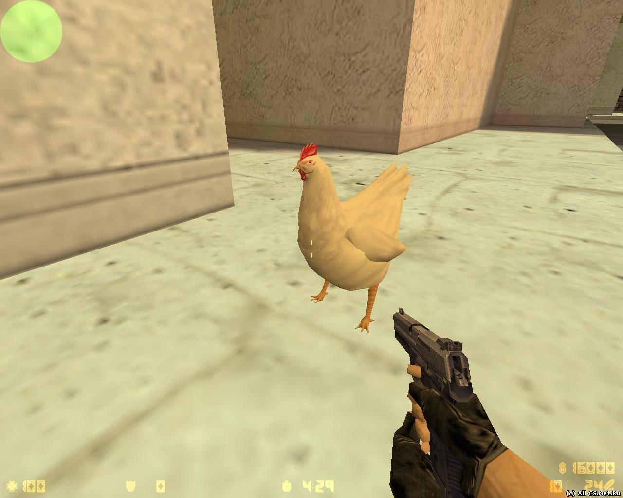 Как сделать модельку курицы в кс го