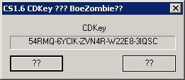 CS 1.6 KeyGen