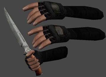 Gloves and Sleeves Reskin