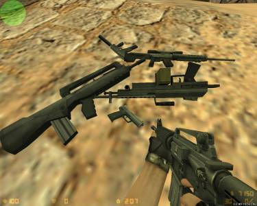 XTCS (CS:Source) Weapon Models Pack скриншот №5