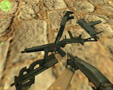 XTCS (CS:Source) Weapon Models Pack скриншот №4