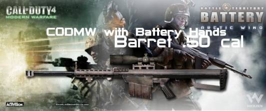 [CODMW+Battery] M82 Barrett .50 cal [AWP] скриншот №1