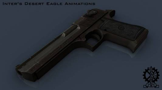 Vasht's Desert Eagle on Inter's anims (convert by <<<G@L>>>) скриншот №1