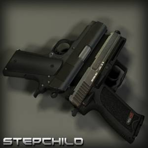 [fixed]Colt Compact and USP on RAM! anims (Convert by <<<G@L>>>) скриншот №1