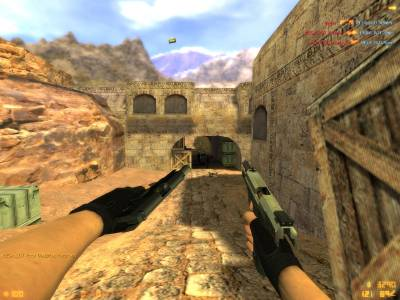 [fixed]Colt Compact and USP on RAM! anims (Convert by <<<G@L>>>) скриншот №4