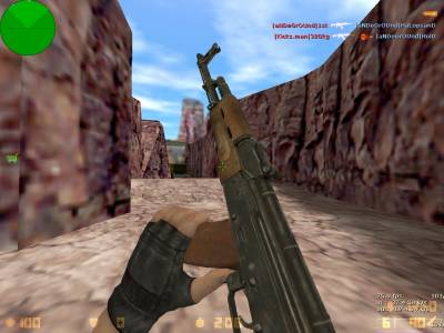 Mr.Rifleman's AKM on [Kopter's anims] (convert by <<<G@L>>>) скриншот №3