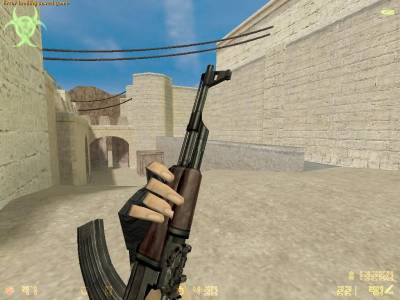 AK-47 on TS anims скриншот №1