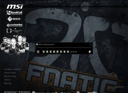 Counter Strike 1.6 от Fnatic Professional скриншот №1