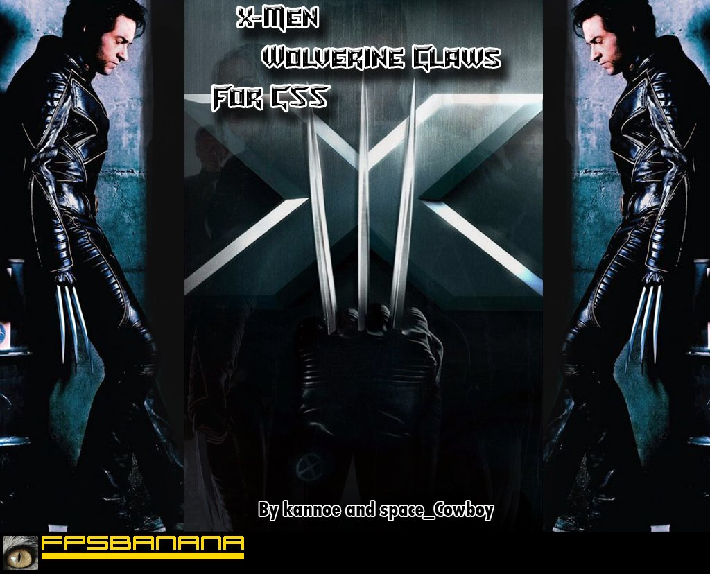 X-Men Wolverine Claws