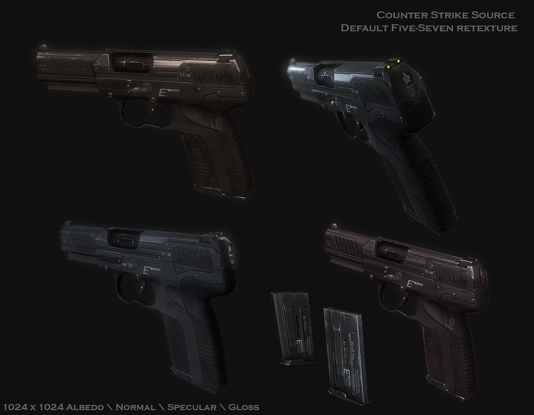 Echo custom Five-Seven retexture
