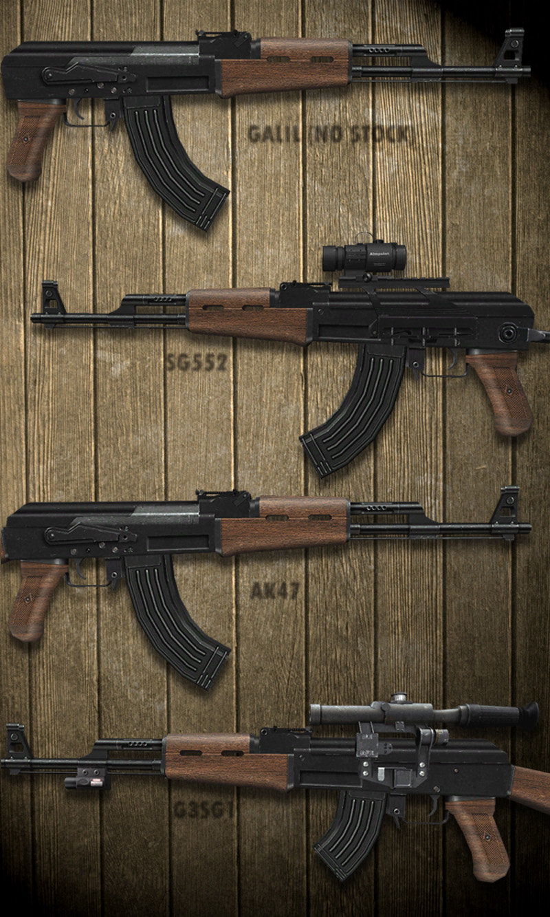 Addicted To AK47 pack Steel Edition