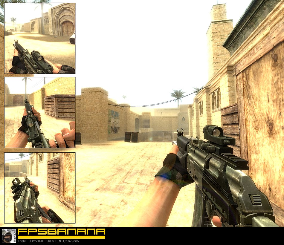 how to use ak 47 in cs source