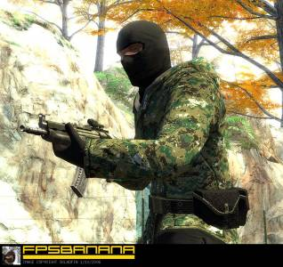 Battlefield2 AKS-74U - Special Forces Use скриншот №2