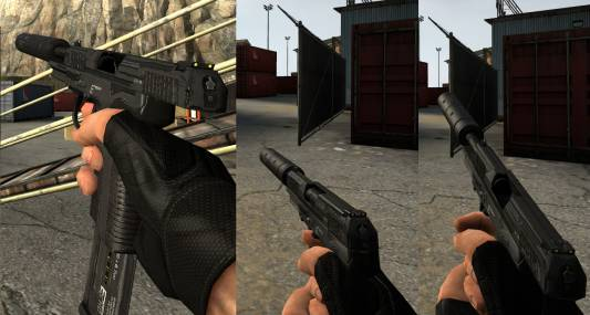 Echo custom Five-Seven retexture скриншот №1