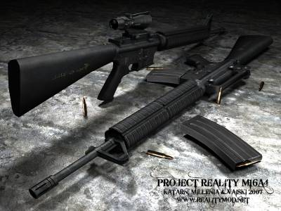 Colt M16 (Project Reality's) скриншот №1