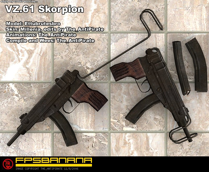 AntiPirate's VZ.61 Skorpion An