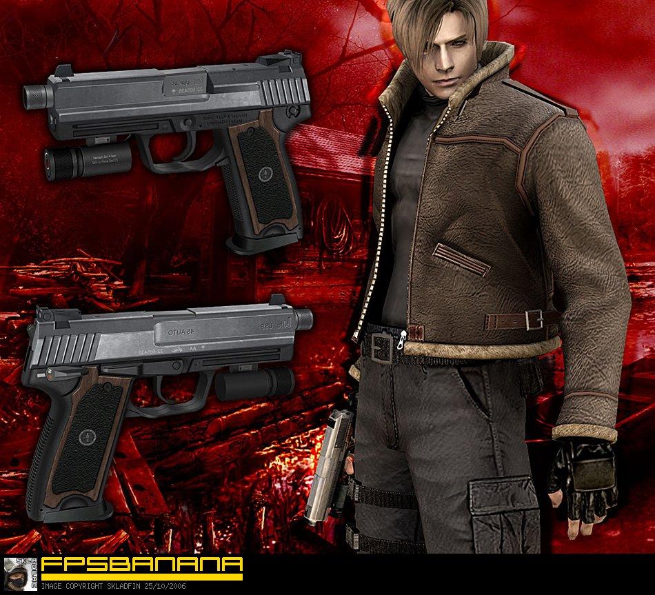 Resident Evil 0 0mm Handgun