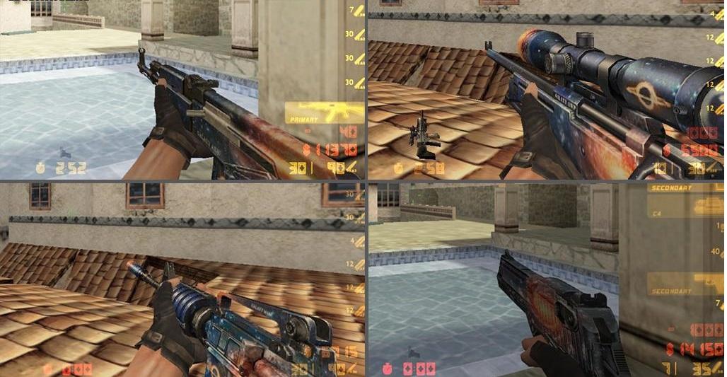Сборник моделей оружия кс 0.6 Galaxy