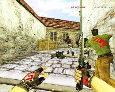 Counter-Strike 1.6 Bloody (2016 / RUS ) скриншот №1