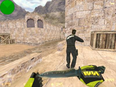 Counter-Strike 1.6 NaVi скриншот №1