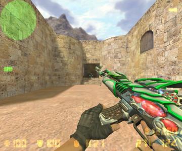 Green Paladin (АК-47) через sosokedinoroga